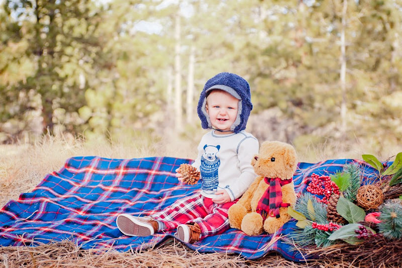 Family Christmas Photos by Kathleen Rose Photography