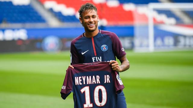 Gabung PSG, Neymar Dapat Nomor Punggung 10