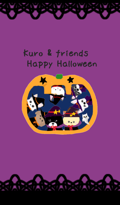 Kuro & friends Happy Halloween