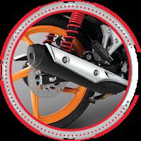 Sporty Muffler HONDA BLADE S Nagamas Motor Klaten