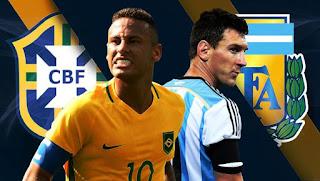 مشاهدة مباراة الارجنتين والبرازيل بث مباشر بتاريخ 16-10-2018 مباراة ودية