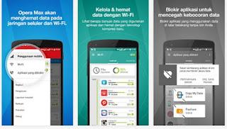 Cara Menghemat Paket Data Kuota Internet Android dengan Opera Max