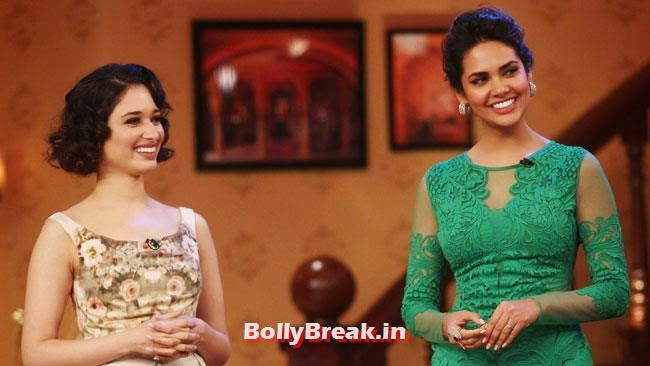 Tamanna Bhatia and Esha Gupta, Esha Gupta, Tamanna, Humshakals Cast on CNWK