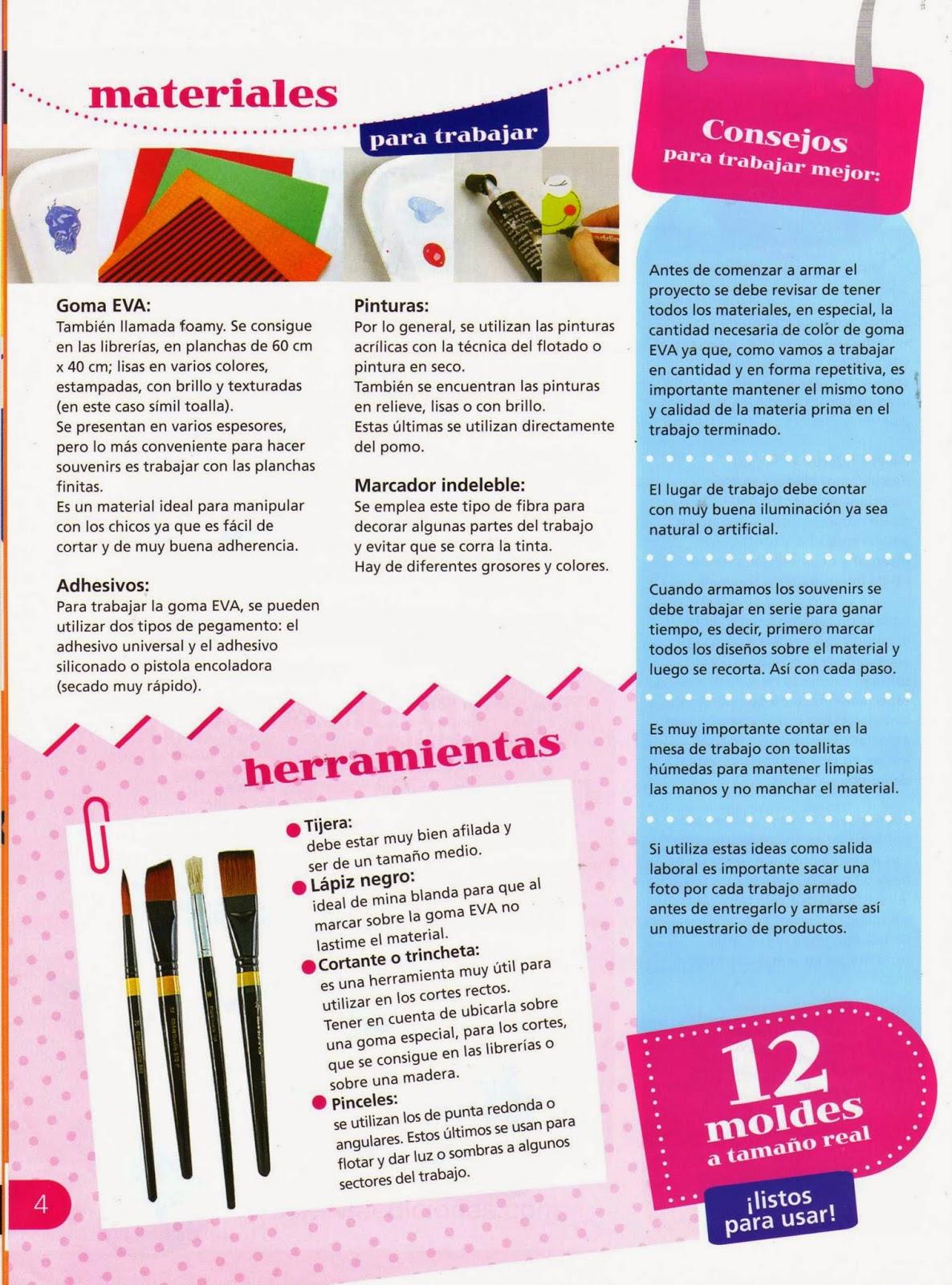 Souvenirs Con Goma Eva Paso A Paso Revistas De Manualidades Gratis - Como-trabajar-goma-eva