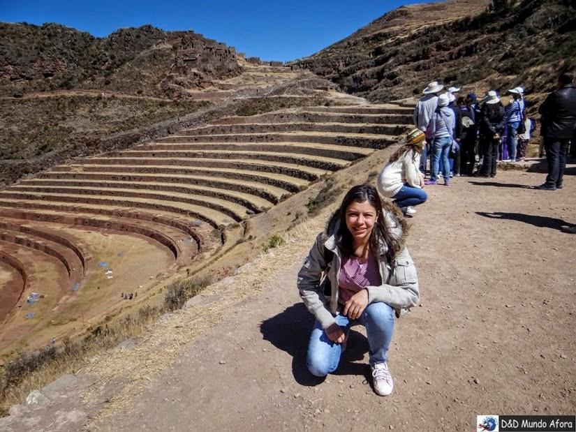 Setor agrícola de Pisac - Peru - City tour Vale Sagrado