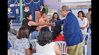 El Ministro Vexler dialogó con directoras y maestras de educación inicial de Trujillo