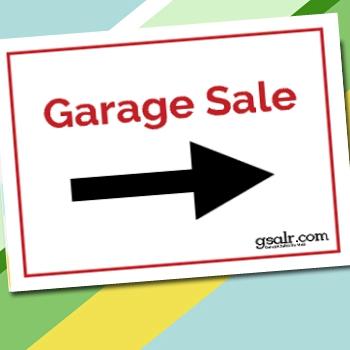 Garage Sale Sign Kit