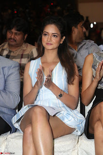 Shanvi Looks super cute in Small Mini Dress at IIFA Utsavam Awards press meet 27th March 2017 78.JPG