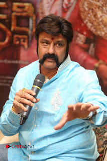 Shriya Saran Nandamuri Balakrishna at Gautamiputra Satakarni Team Press Meet Stills  0084.JPG