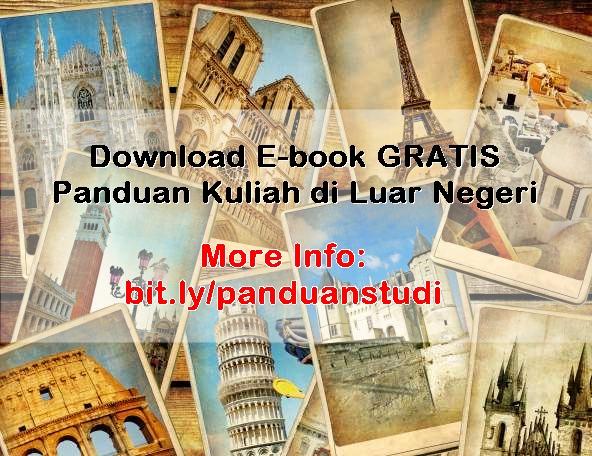Download E Book Gratis Panduan Kuliah Di Luar Negeri