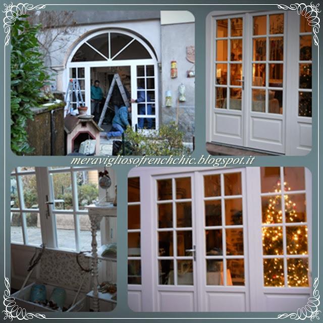 My French Style : Babbo Natale e.......la veranda nuova