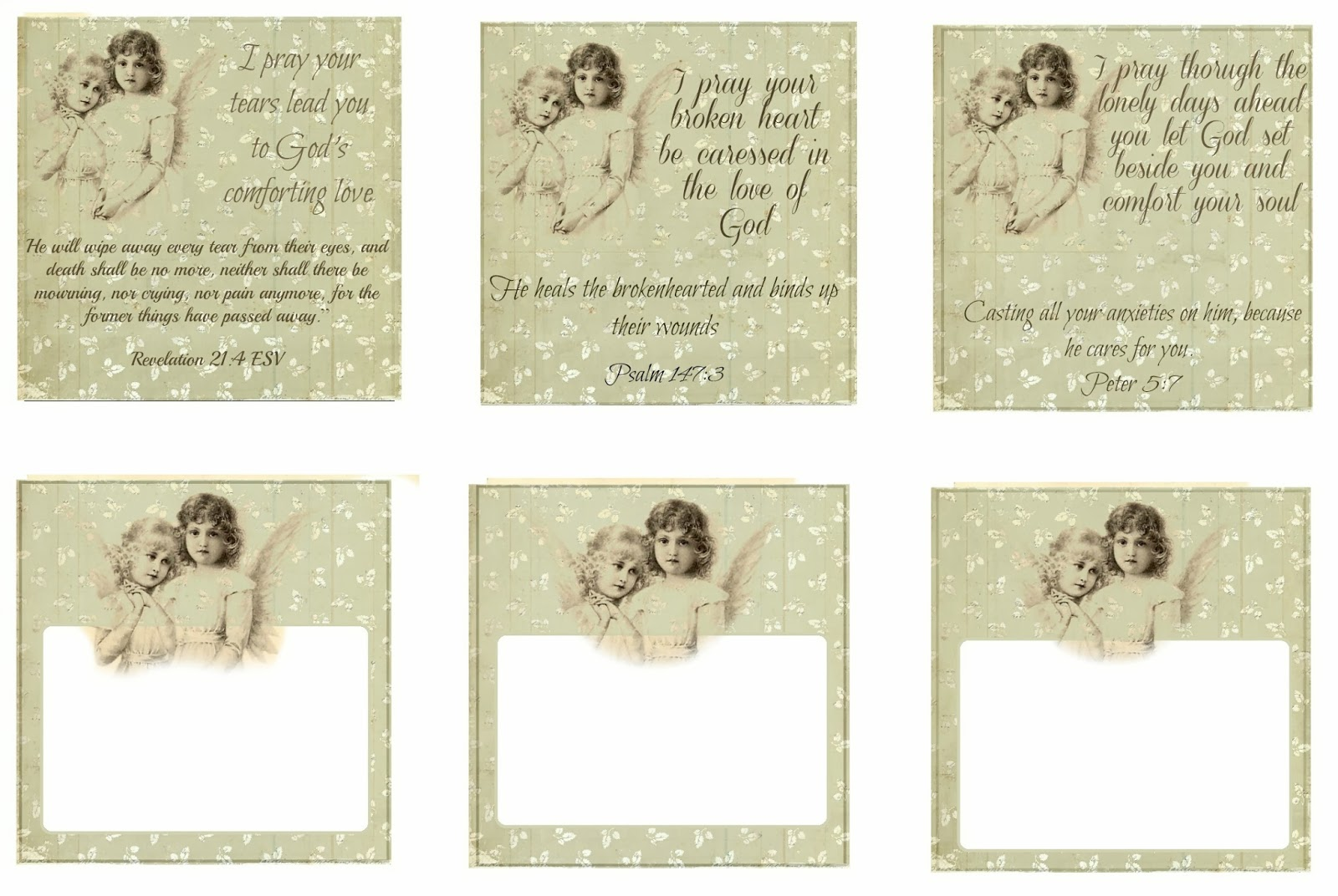 Glenda S World Prayer Cards