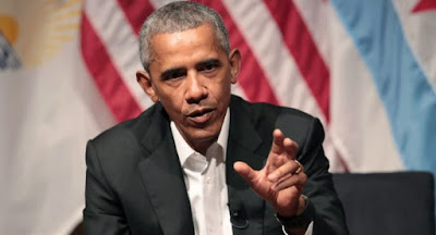 Obama in Chicago: ignores Trump in talks with youths
