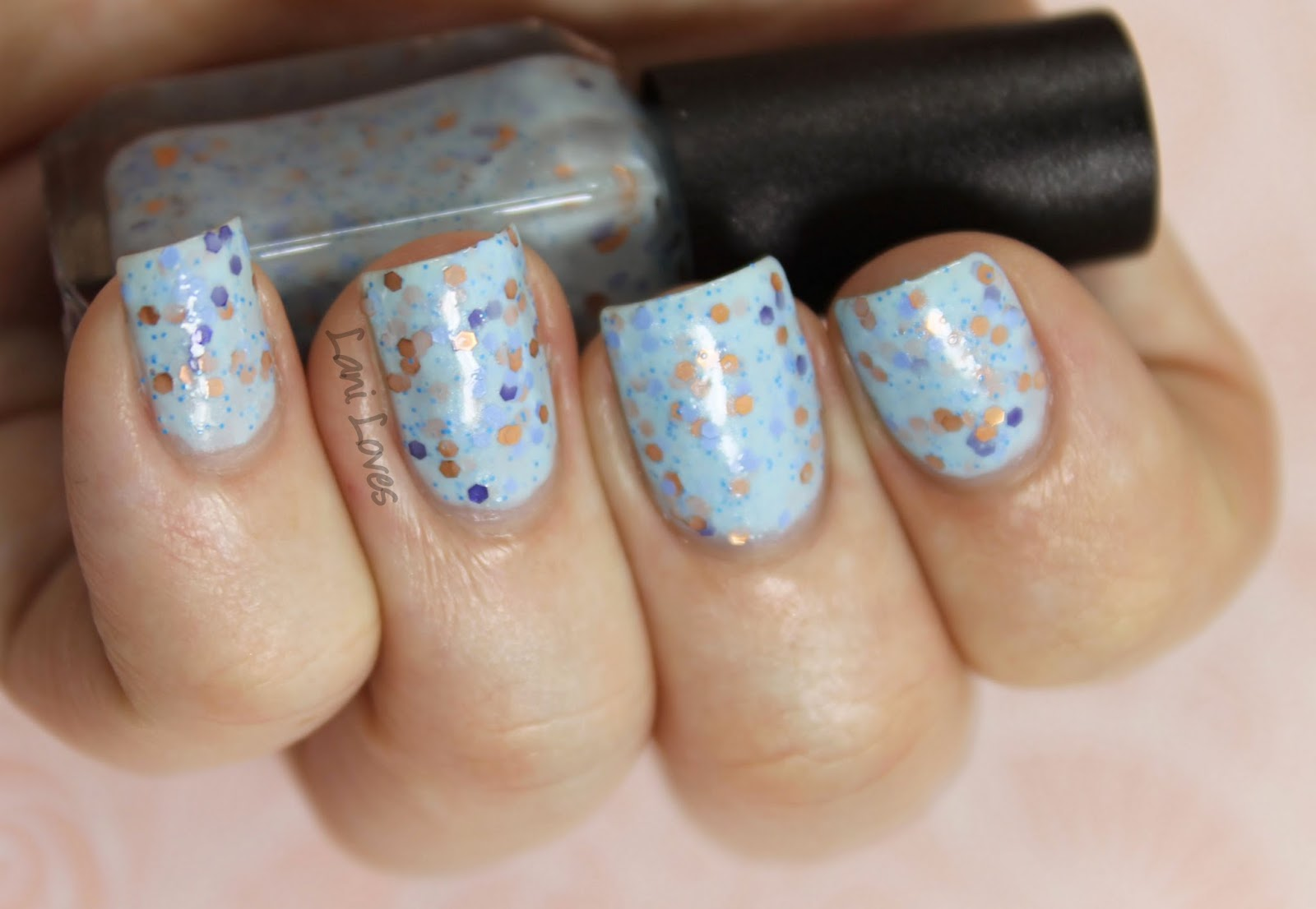 Peacock Pie Throwing Copper nail polish swatches & review