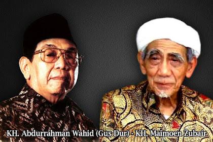 Mbah Maiomen Zubair takut kuwalat dengan Gus Dur