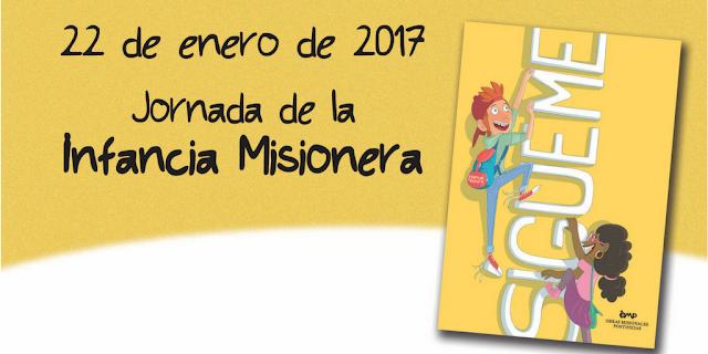 Lema y Cartel Infancia Misionera 2017