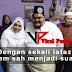 Tahniah Abam, Selamat Bergelar Suami Dengan Sekali Lafaz