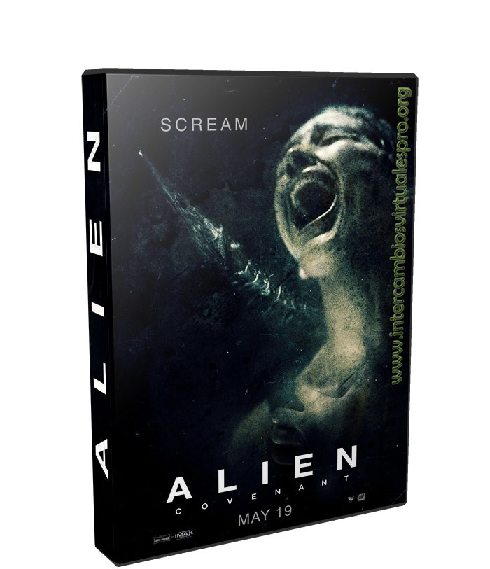 Alien Covenant poster box cover