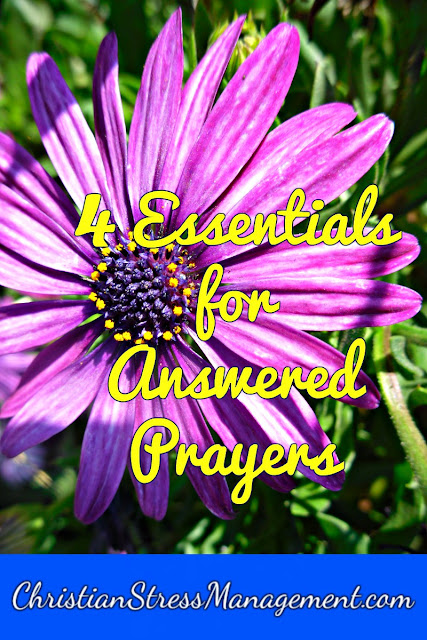 Essentials for Answered Prayers