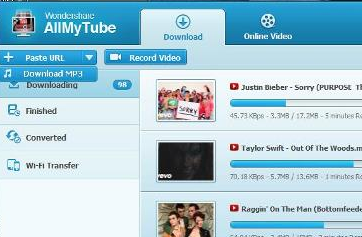 Wondershare AllMyTube Youtube Video Downloader Software