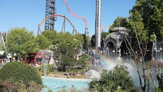 Arcoiris en el Parque de Atracciones
