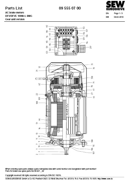 sew drs motor wiring diagram impremedia net