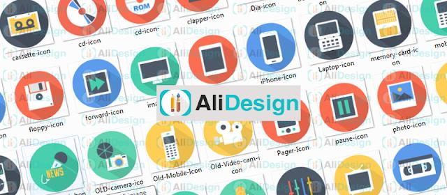 تحميل مجموعة من الايقونات عالية الجودة Flat Design