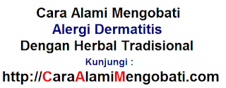 Cara alami mengobati alergi dermatitis dg herbal tradisional