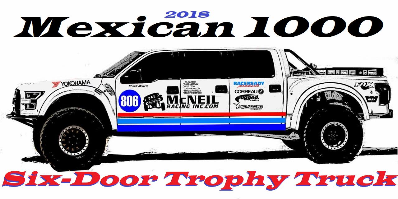 Baja Racing News Live Super Exclusive Mcneil Racing Six Door