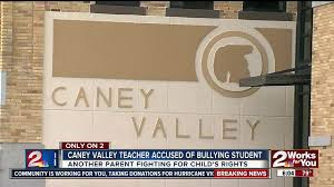 Caney Valley teacher accused of bullying student