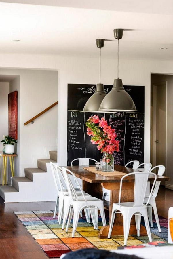 renovar casa con poco presupuesto- Pared Pizarra