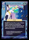 My Little Pony The Sun and the Moon Canterlot Nights CCG Card