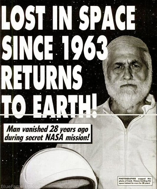 Astronot Yang Pernah Hilang 28 Tahun Di Luar Angkasa Dan Kembali Lagi Ke Bumi