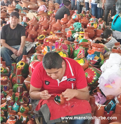 Artisan Expo in Uruapan on Palm Sunday