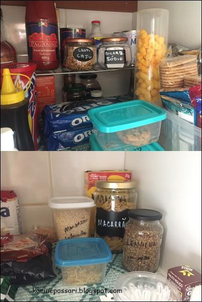 armário de alimentos