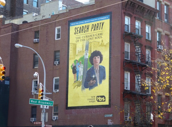 Search Party TV series billboard