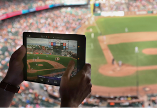 Baseball pitches augmented reality to catch fans