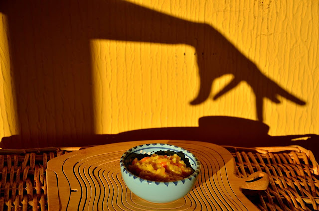 risotto con la zucca, foodfilebasilicata