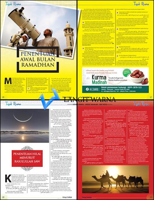 Jasa design layout dan cetak majalah  murah daerah jakarta