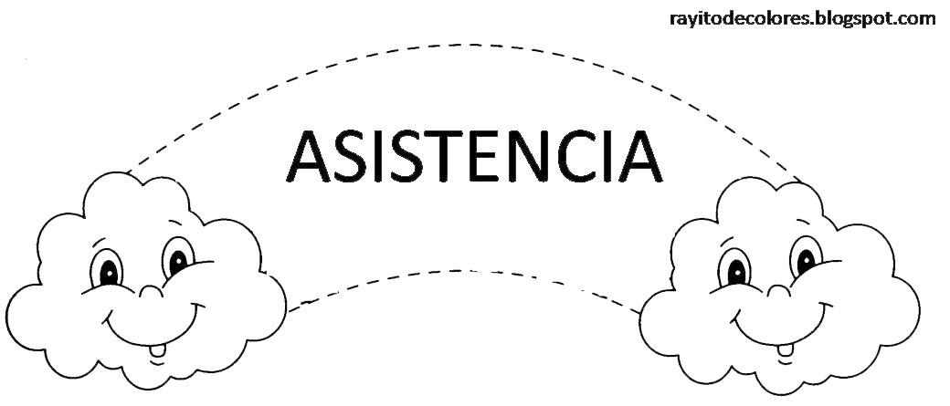 cartel de asistencia