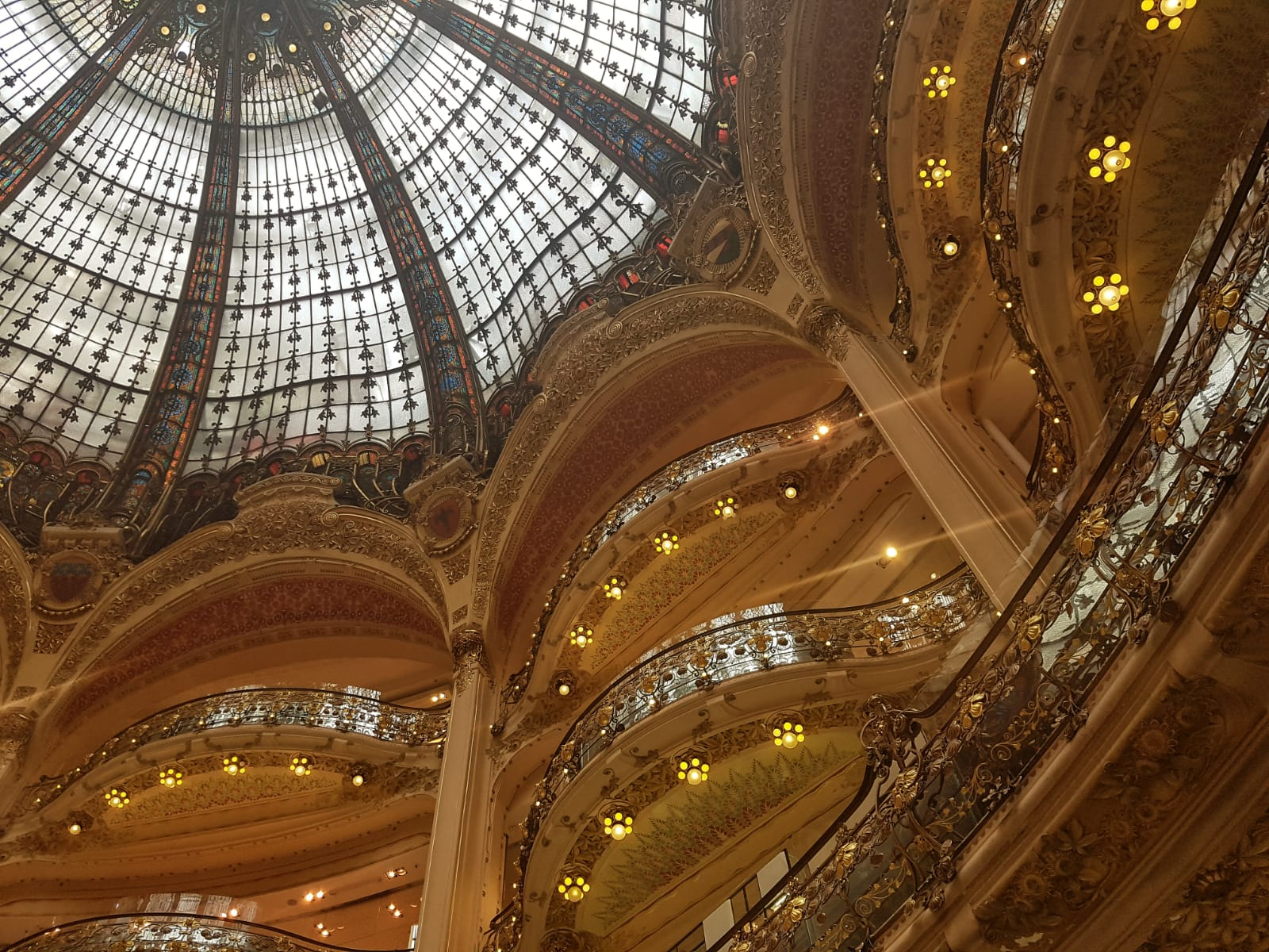 Galeries Lafayette Ceiling