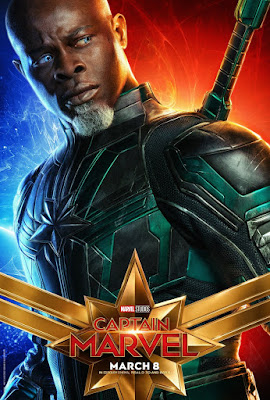 Captain Marvel Theatrical One Sheet Character Movie Posters