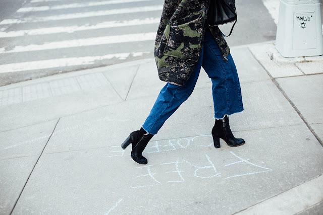 Camuflaje estampado street style