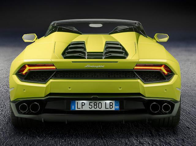 Lamborghini Huracán Spyder RWD
