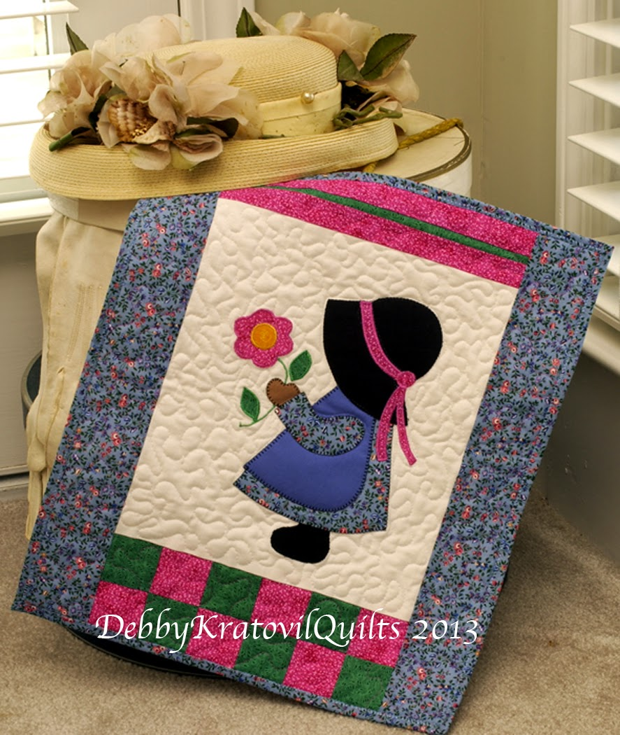 Debby Kratovil Quilts Sunbonnet Sue For Baby