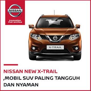 Nissan x-trail, mobil suv paling tangguh untuk kompetisi