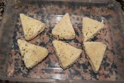 Bocaditos de queso frito paso 3
