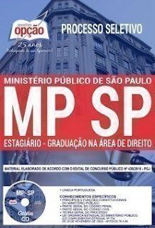 Download Apostila Processo Seletivo MP SP 2018 PDF