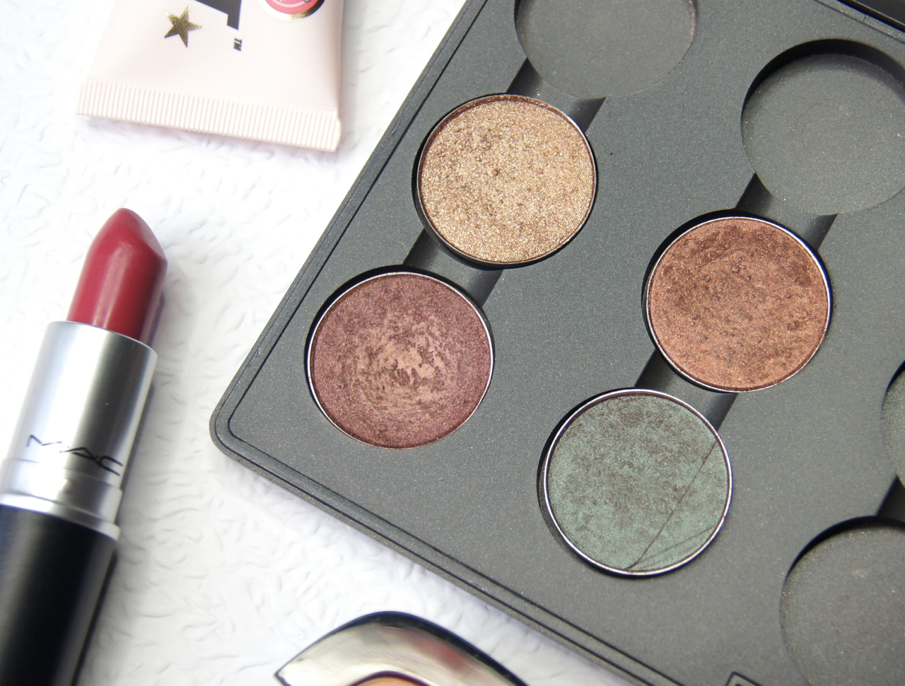 mac eyeshadows autumn tempting mulch twinks club review