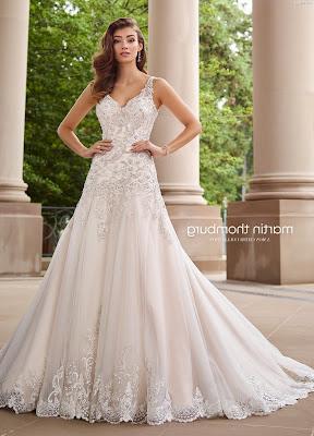 vestidos de novia con diamantes
